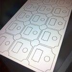 Lastercut Industrieplatte