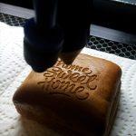 Essbarer Biber mit Lasergravur Text