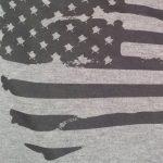 Siebdruck auf T-Shirt