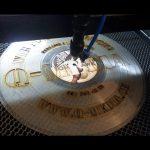 Lasercut Schallplatte