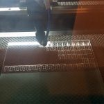 Plexiglas Formen mit Laser ausgeschnitten