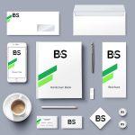 Auswahl an stationären Corporate Identity Printprodukten